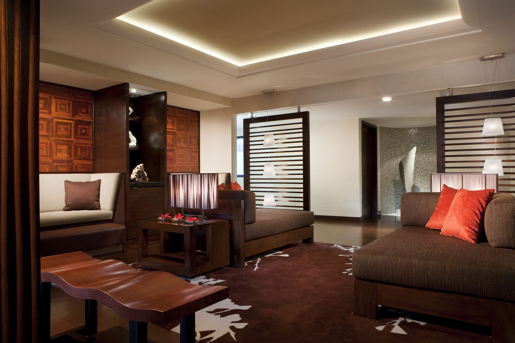Indidesign accista spa for Relaxation room ideas